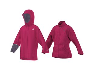 ADIDAS GIRLS 3IN1 CPS FLEECE JACKET AA2014